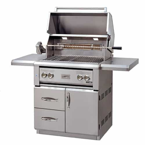 "LUXOR-30""-FREE-STANDING-GRILL-ROTISSERIE free standing series"