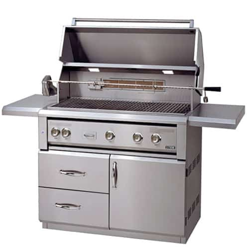 "LUXOR-42""-FREE-STANDING-GRILL--ROTISSERIE free standing series"