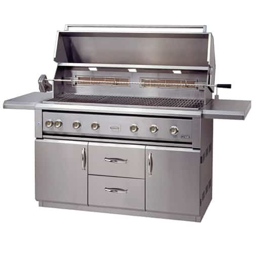 "LUXOR-54""-BUILT-IN-GRILL--ROTISSERIE free standing series"